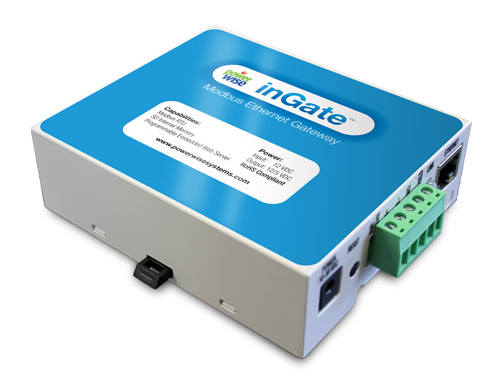inGate commercial grade ethernet, modbus, and Zigbee gateway